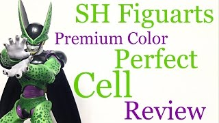 Download Bandai Tamashii Nations SH Figuarts Dragon Ball Z Premium Color PERFECT CELL Action Figure Review Video