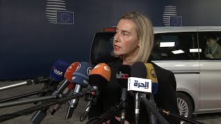 Download Mogherini pide ″contención y responsabilidad″ a las partes en Bolivia Video