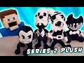 Download Bendy and the Ink Machine PLUSH Series 2 Butcher Gang, Ink Demon Review Unboxing Video