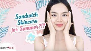 Download Dưỡng da mùa hè NGỪA MỤN, GIẢM BÓNG NHỜN 🌻 | SUMMER SKINCARE ROUTINE | Happy Skin Video