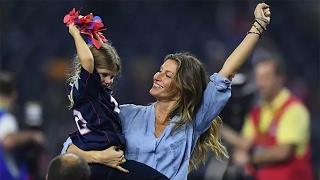 Download Gisele Bundchen Goes Completely NUTS Over Husband Tom Brady's Super Bowl Comeback Win Video
