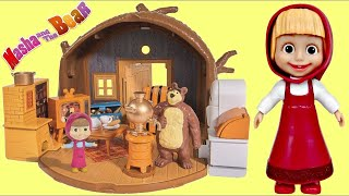 Download MASHA and the BEAR Portable House Imaginative Toy Play Video