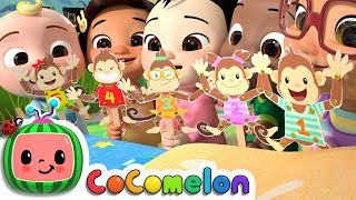 Download Five Little Monkeys | CoCoMelon Nursery Rhymes & Kids Songs Video
