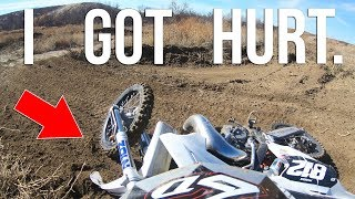Download I GOT HURT & ABANDONED ON THE MX TRACK Video