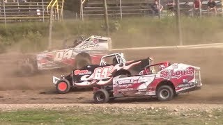 Download Topless Sportsman Modified Heat One | Genesee Speedway | 9-17-17 Video