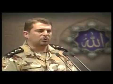 Iran Army General Reciting Quran In His Beautiful Voice - Mashallah Kya Meeth Awaz Hy