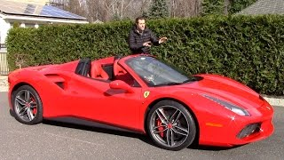 Download Here's Why the Ferrari 488 Spider Is Worth $350,000 Video