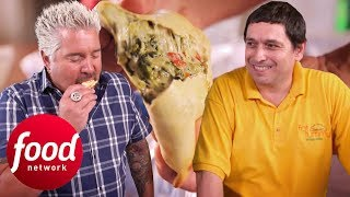 Download An American Story Filled With Argentinian Empanadas | Diners, Drive-Ins & Dives Video
