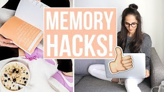 Download MEMORY HACKS | How to memorize ANYTHING fast and easily! Video