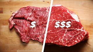 Download How To Cook A Cheap Steak Vs. An Expensive Steak Video
