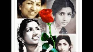 Download lata mangeshkar-sekuntum mawar merah [one red rose].wmv Video
