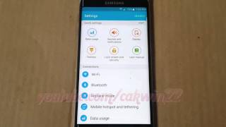 Download Android 5.1 : How to check Wifi usage in Samsung Galaxy S6 Video