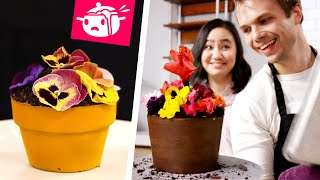 Download We Tried To Re-Create This Flower Pot Cake • Eating Your Feed • Tasty Video