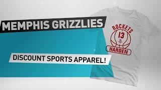 Download Memphis Grizzlies Discount Sports Apparel // NBA Merchandise Video