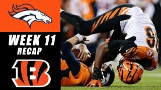 Download Bengals Kindly Let Broncos Beat Themselves 20-17 Video