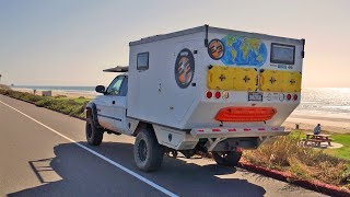 Download EP:10 Return to the DODGEMAHAL - Driving the Pacific Coast Highway in a Truck Camper Video
