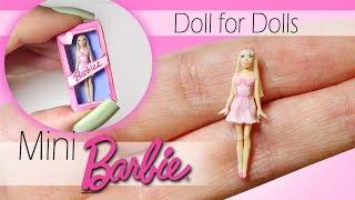 Download Miniature Barbie Tutorial // DIY Dolls/Dollhouse Video