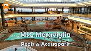 Download MSC Meraviglia Pool Deck and Acquapark Tour HD 2017 @CruisesandTravelsBlog Video