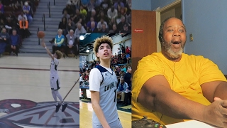 Download Dad Reacts to LaMelo Ball Shoots From Wherever He Wants... | FULL HIGHLIGHTS Video