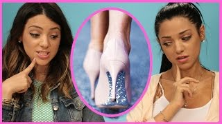 Download NikiAndGabiBeauty DIY Glitter High Heels | Niki and Gabi DIY or DI-Don't! Video