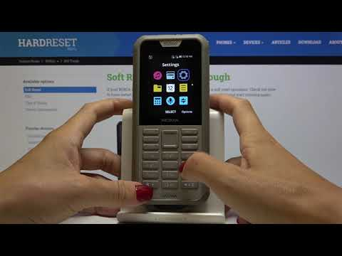 How to Set Up Lock Screen in NOKIA 800 Tough – Storage Protection