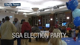 Download Campus groups come together for election night watch parties Video
