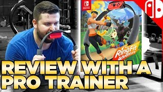 Download Ring Fit Adventure - What Does a Professional Trainer Think About this Workout Game? Video