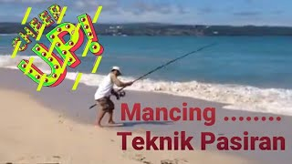 Download MANCING TEKNIK PASIRAN / SURF FISHING STRIKE GT Video