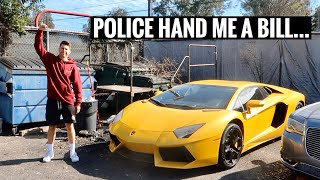 Download RESCUING MY LAMBORGHINI AVENTADOR FROM THE IMPOUND LOT! Video
