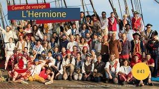 Download [Carnet de Voyage Hermione] #41 - La journée type d'un gabier Video