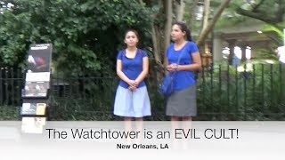 Download Street Preacher confronts BRAINWASHED JW Cult members! Video