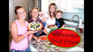 Download 🍉Watermelon Fruit Pizza!!🍉 Video