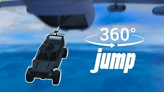 Download Jumping Out Of A Plane In Virtual Reality - GTA 360° Experience Video