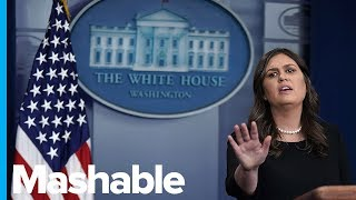 Download Sarah Huckabee Sanders' Most Ludicrous Moments as Press Secretary Video