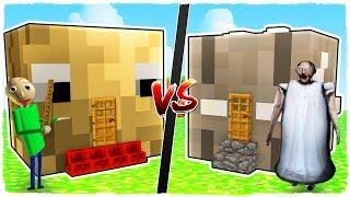 Download Casa de BALDI vs casa de GRANNY - MINECRAFT Video
