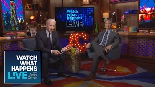 Download Anderson Cooper Grills Andy Cohen in a Special One-on-One Interview   WWHL Video