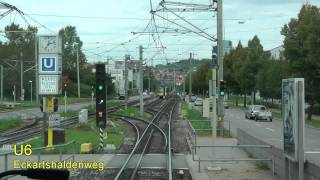 Download Stadtbahn Stuttgart linia U6 Video
