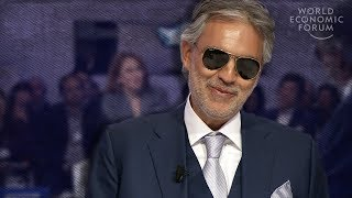 Download Andrea Bocelli: To Be Happy, You Must Create Video