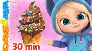 Download 🍨The Ice Cream Song | Baby Songs and Nursery Rhymes | Dave and Ava🍨 Video