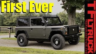 Download Wow! All Electric AWD Wrangler, Defender and New Bronco Fighter is Born Video