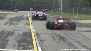 Download Ferrari F1 F93A ex-Jean Alesi at military airport Volkel - V12 SOUNDS! Video