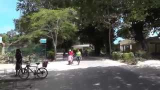 Download Seychelles, La Digue, La Passe sightseeing by bicycle summer 2014 Video
