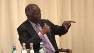 Download Former President Thabo Mbeki speaks on xenophobia at the 14th Aprm Day Video