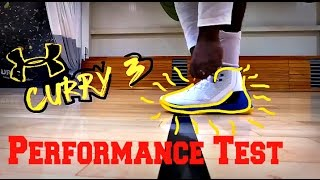 Download Under Armour Curry 3 Performance Test Video