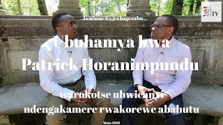 Download Ubuhamya bwa Patrick Horanimpundu, warokotse ubwicanyi ndengakamere rwakorewe abahutu Video