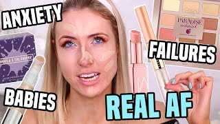 Download Full Face Testing NEW MAKEUP & We Get REAL ... Anxiety, Tears & Fears Video