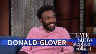 Download Donald Glover Meets The Girl Scout Who Went Viral With 'Redbone' Video