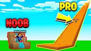 Download MINECRAFT NOOB vs PRO GIANT SLIDE CHALLENGE! Video