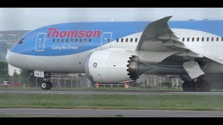 Download An Autumns Day of Plane Spotting at Glasgow Airport | 787 777 A330s & More Video