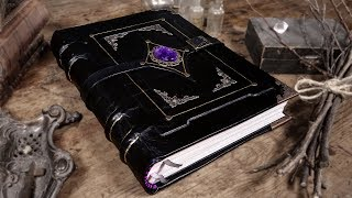 Download Binding a MYSTICAL Handmade GRIMOIRE / Book of Shadows! Video